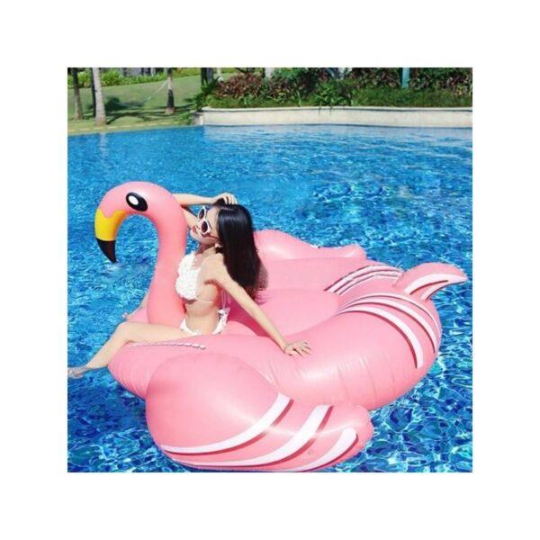 """34798 - Надувной матрас для плавания """"Розовый фламинго"""""""