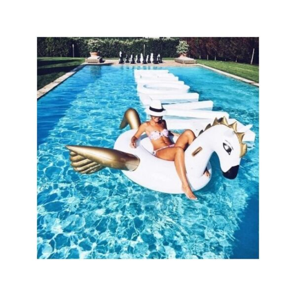 """34830 - Надувной матрас для купания в бассейне и не только """"Сказочный дракон"""""""