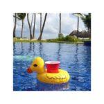 34894 thickbox default - Надувной плавающий держатель-подстаканник для напитков Yellow duck