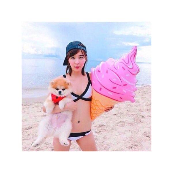 34908 - Надувная игрушка для бассейна и пляжа Ice cream