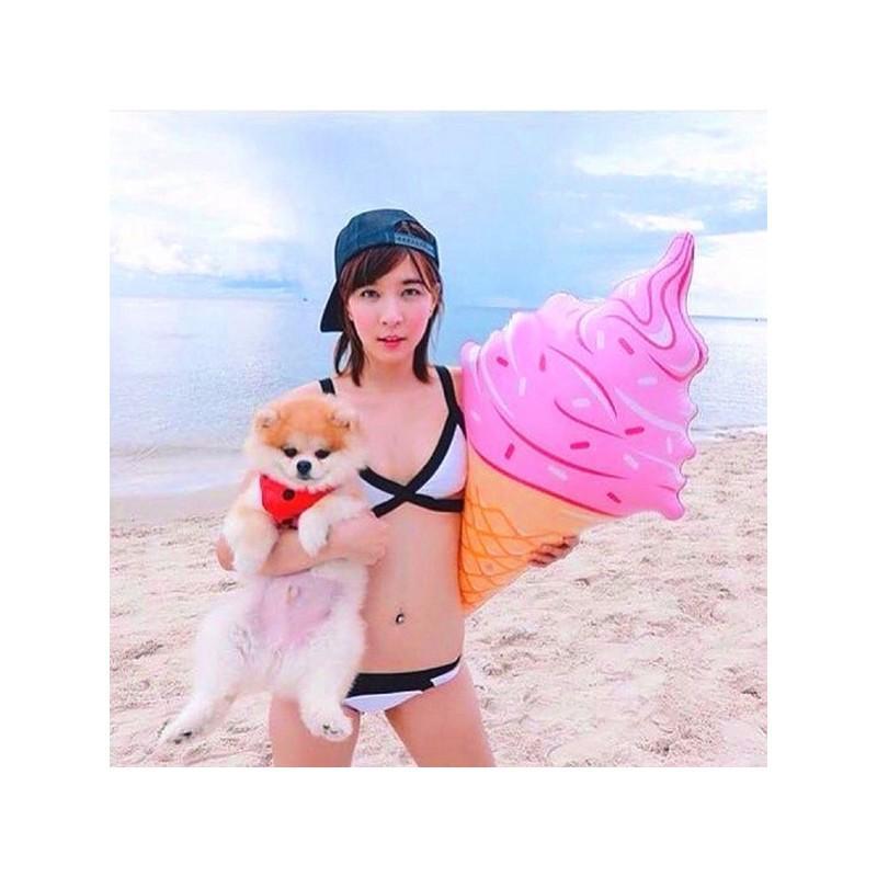 Надувная игрушка для бассейна и пляжа Ice cream 211093