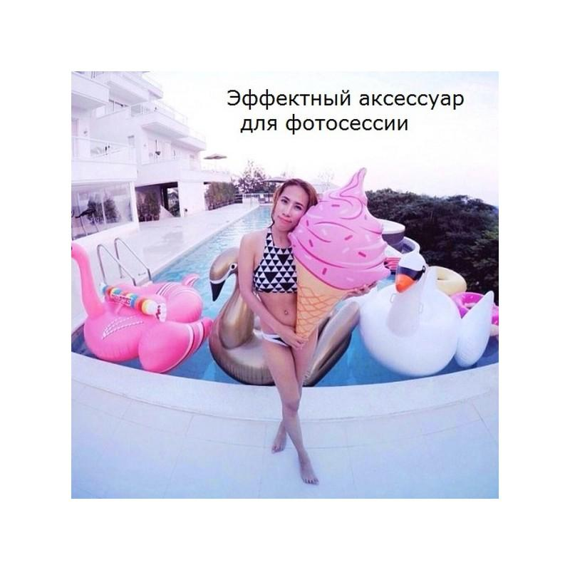 Надувная игрушка для бассейна и пляжа Ice cream 211095