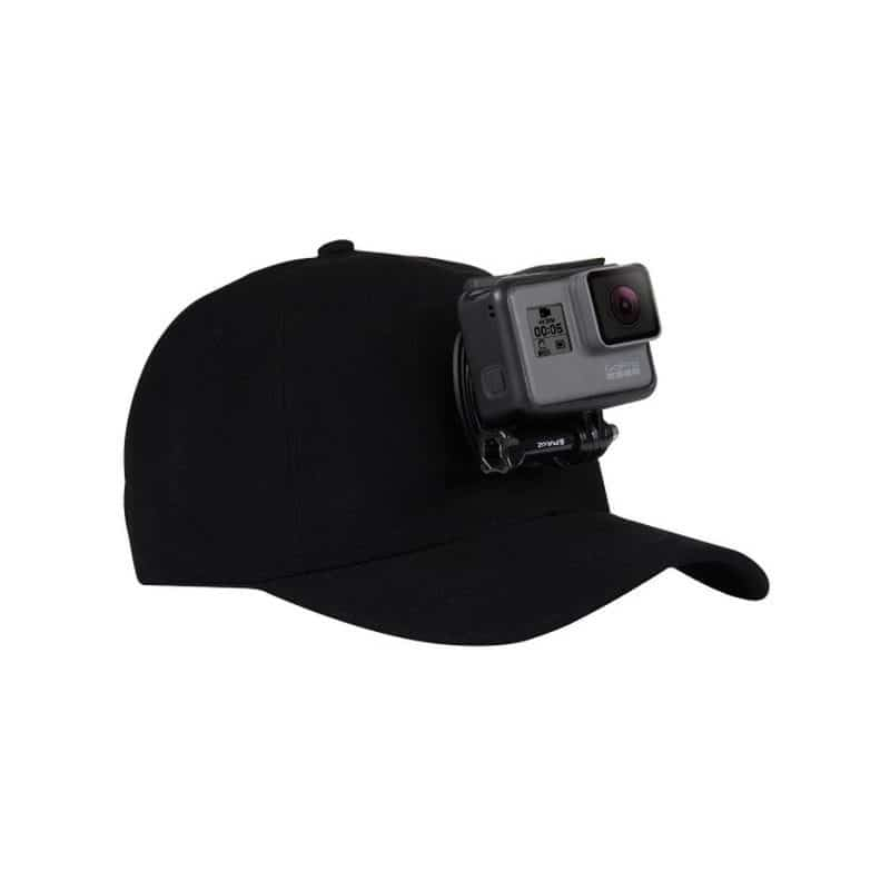 Бейсболка PULUZ с креплением J-Hook для GoPro HERO5 и других экшн-камер - Черный