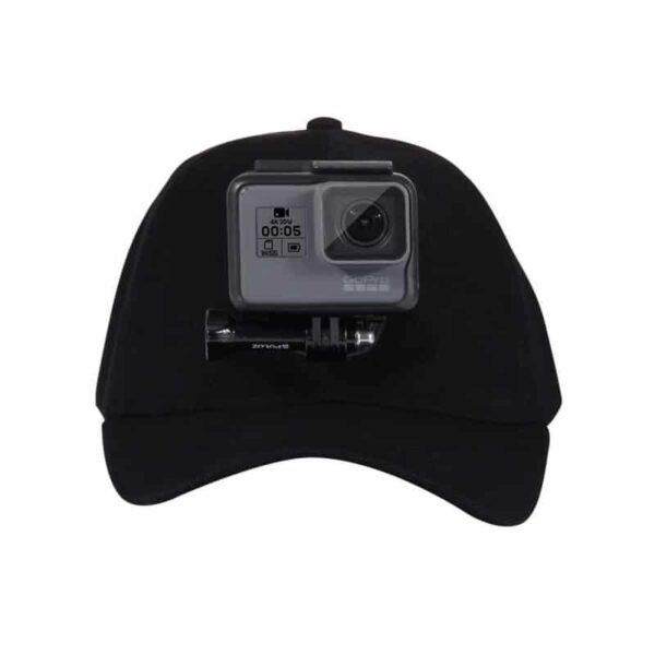 34958 - Бейсболка PULUZ с креплением J-Hook для GoPro HERO5 и других экшн-камер