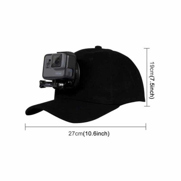 34959 - Бейсболка PULUZ с креплением J-Hook для GoPro HERO5 и других экшн-камер