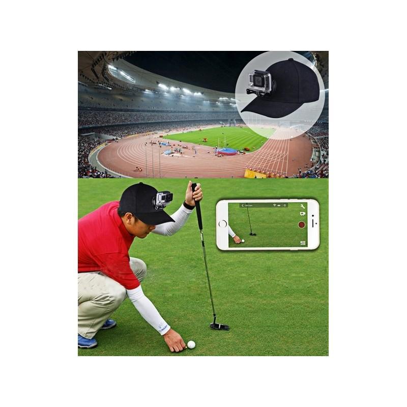 Бейсболка PULUZ с креплением J-Hook для GoPro HERO5 и других экшн-камер 211145
