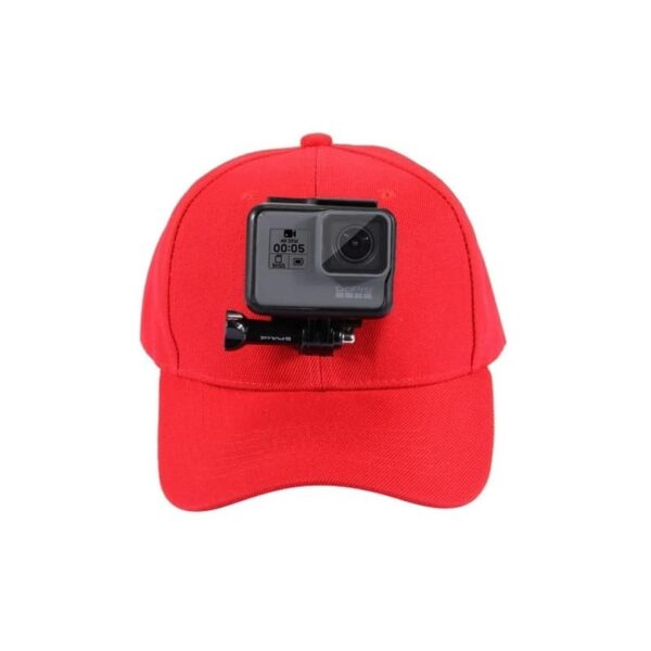 34969 - Бейсболка PULUZ с креплением J-Hook для GoPro HERO5 и других экшн-камер