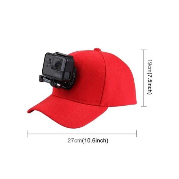 34970 - Бейсболка PULUZ с креплением J-Hook для GoPro HERO5 и других экшн-камер