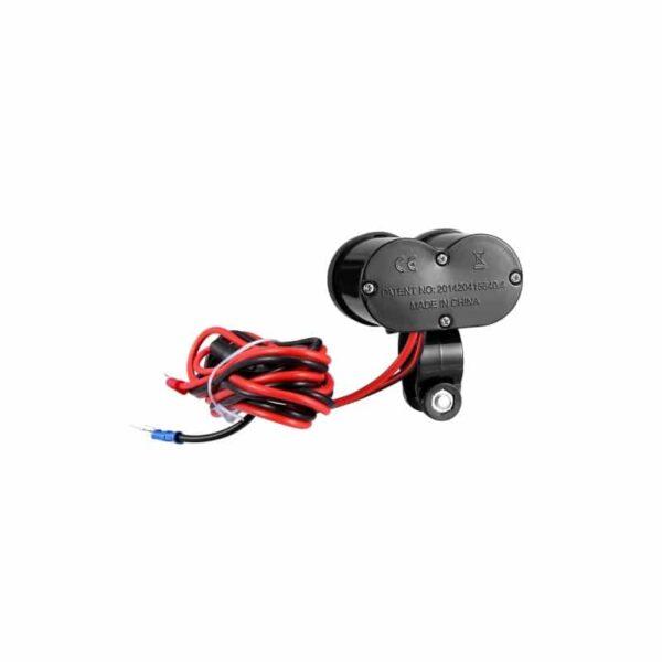 35027 - Мотоприкуриватель с USB-зарядным для мотоцикла/электровелосипеда с водонепроницаемой крышкой