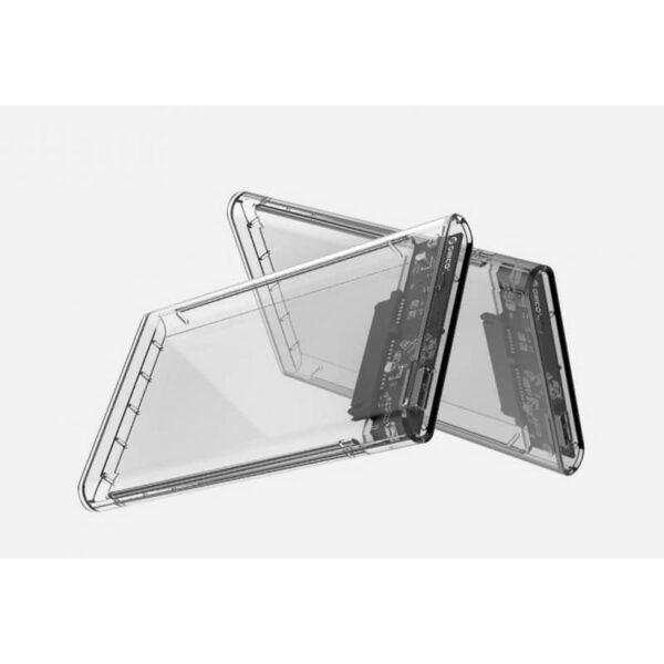 35054 - Внешний бокс для жесткого диска ORICO Type-C - 2.5 дюйма, Type-C, до 2 Тб, поддержка HDD и SSD