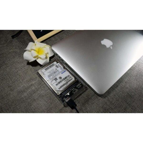 35056 - Внешний бокс для жесткого диска ORICO Type-C - 2.5 дюйма, Type-C, до 2 Тб, поддержка HDD и SSD