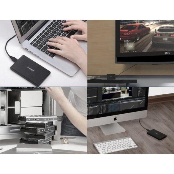35173 - Портативный бокс для жесткого диска ORICO 2189U3 - USB 3.0, 2.5 дюйма, HDD и SSD, до 2 Тб