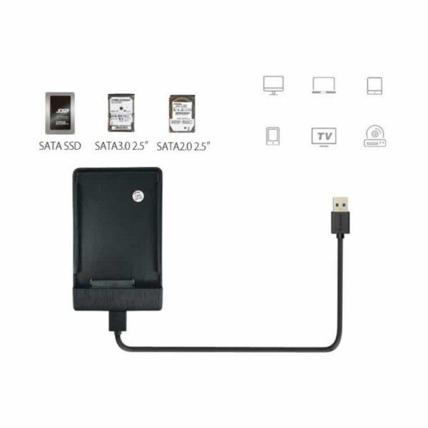 35175 - Портативный бокс для жесткого диска ORICO 2189U3 - USB 3.0, 2.5 дюйма, HDD и SSD, до 2 Тб