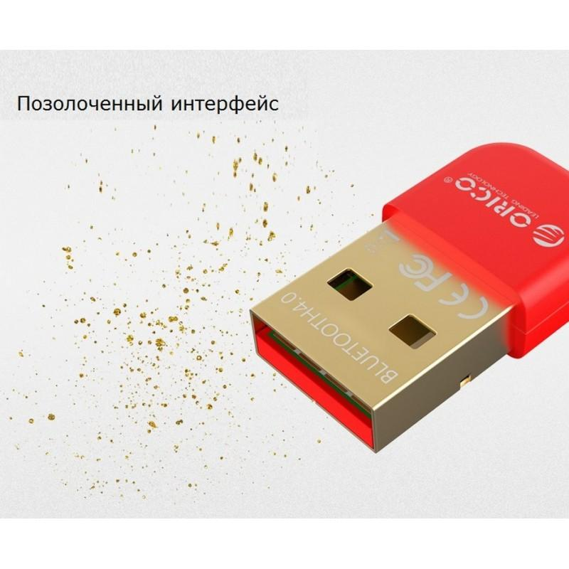 Bluetooth адаптер ORICO BTA-403 – Bluetooth 4.0, USB 2.0, 3 Мб/с, до 20 метров 211320
