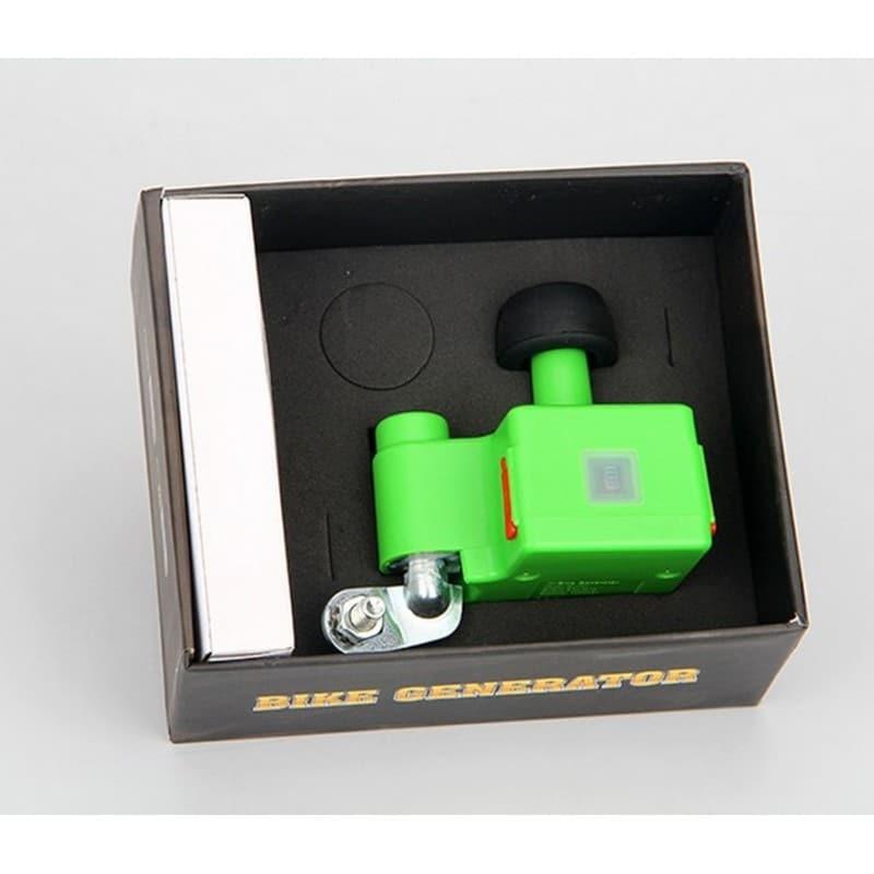 Динамо-машина на велосипед с USB выходом 5V 1A - Зеленый