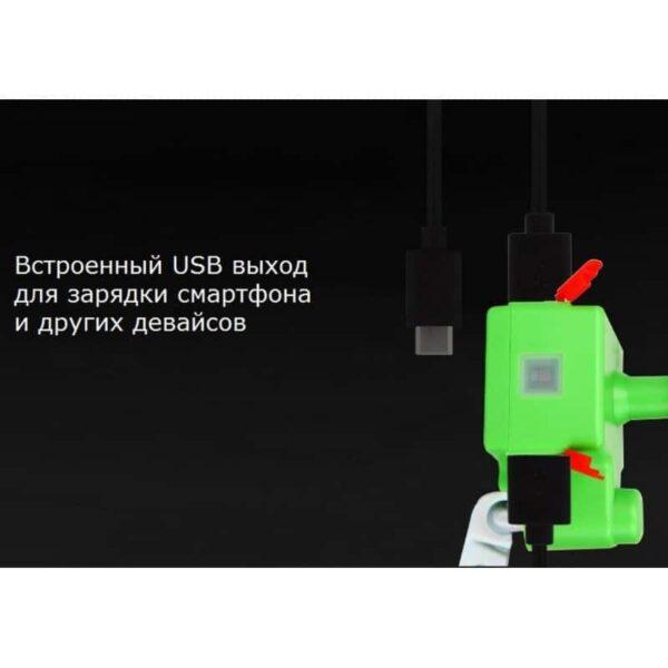 35192 - Динамо-машина на велосипед с USB выходом 5V 1A