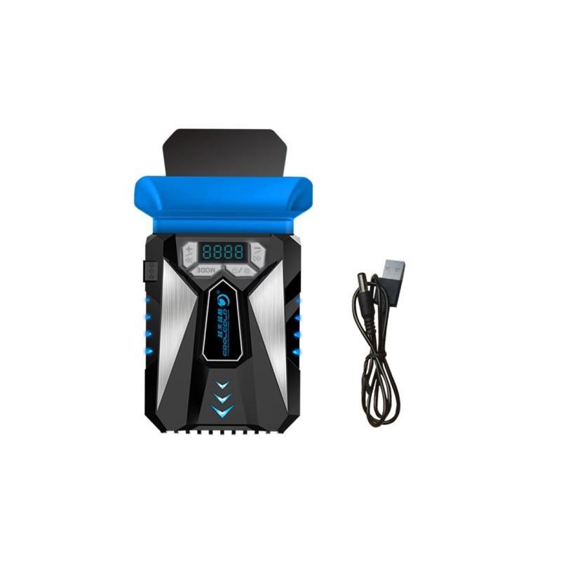35201 - Портативный вентилятор для ноутбука CoolCold Ice Troll 5 с USB-питанием: выбор скорости, ЖК-дисплей, подсветка