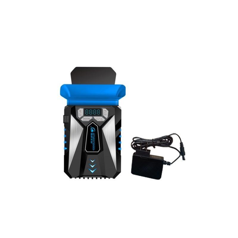 35227 - Внешний вентилятор для ноутбука CoolCold Ice Troll 5 с питанием от сети AC 220В: выбор скорости кулера, ЖК с подсветкой