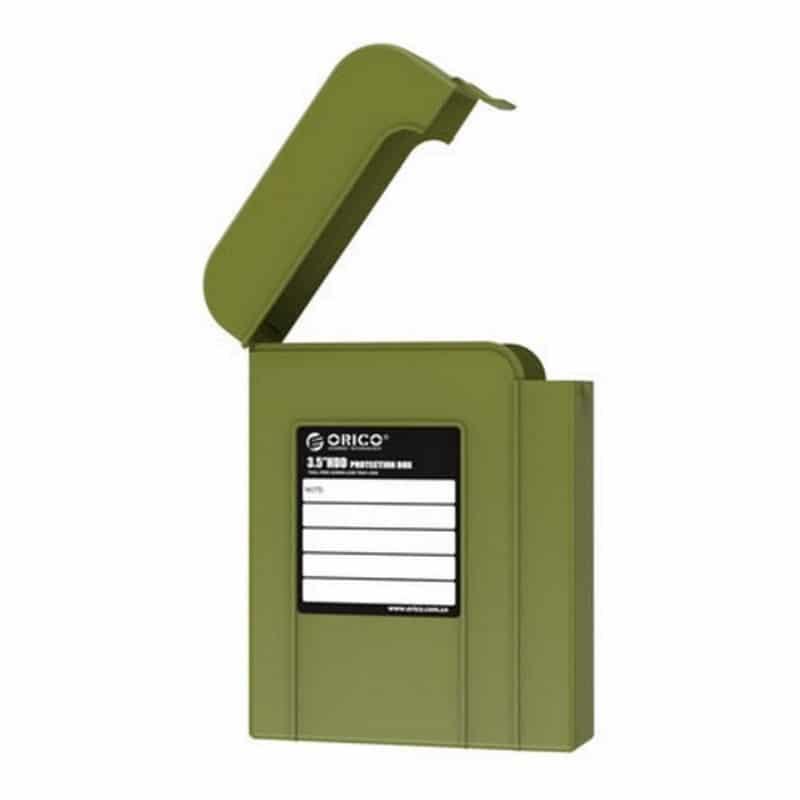 3.5-дюймовый кейс для хранения жестких дисков ORICO PHI-5 – водонепроницаемый, пылезащитный, противоударный 211432