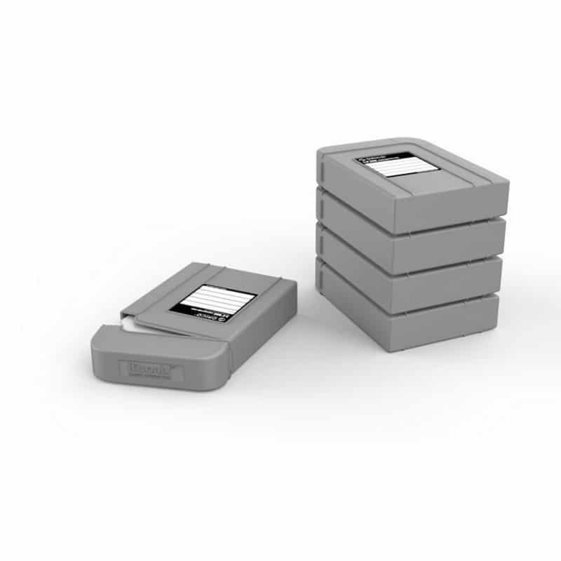 3.5-дюймовый кейс для хранения жестких дисков ORICO PHI-5 - водонепроницаемый, пылезащитный, противоударный - Серый