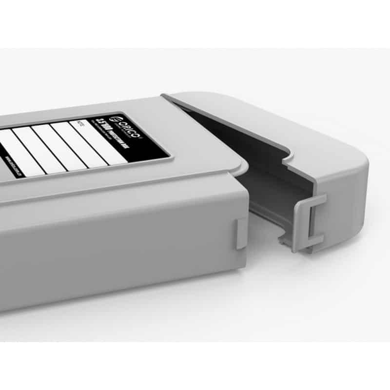 3.5-дюймовый кейс для хранения жестких дисков ORICO PHI-5 – водонепроницаемый, пылезащитный, противоударный 211439