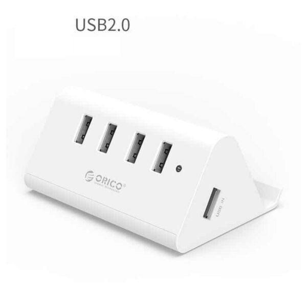 35338 - Многофункциональный USB HUB от ORICO - 4 х USB 2.0 / USB 3.0, кабель 1 м / 2 м, 5 Гб/с, подставка