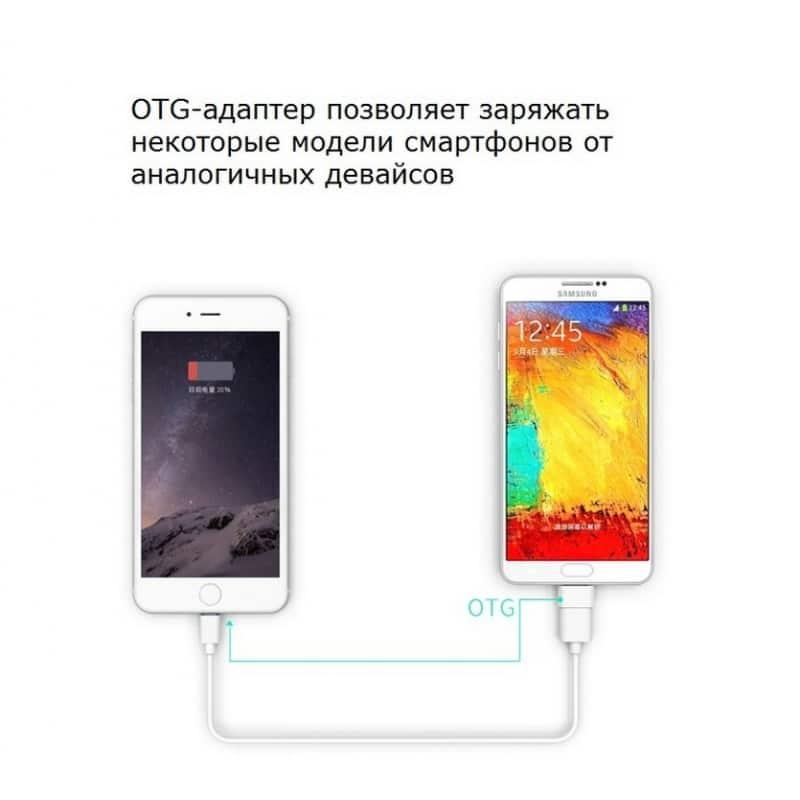 OTG адаптер ORICO Mogo 2 с интерфейсом Micro USB для Android-устройств 211587