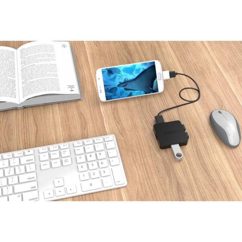 OTG адаптер ORICO Mogo 2 с интерфейсом Micro USB для Android-устройств 211594