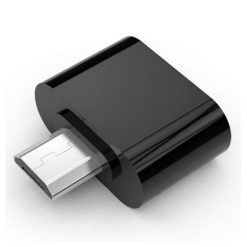 OTG адаптер ORICO Mogo 2 с интерфейсом Micro USB для Android-устройств - Черный