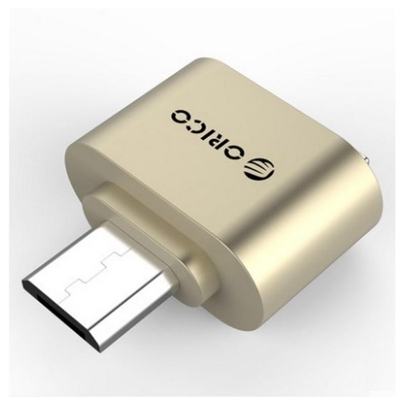 35490 - OTG адаптер ORICO Mogo 2 с интерфейсом Micro USB для Android-устройств