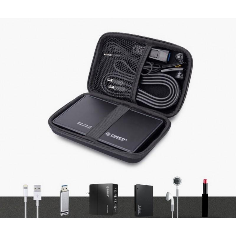 35493 - Кейс на молнии Orico PHD-25-CO для хранения/переноски жесткого диска и аксессуаров