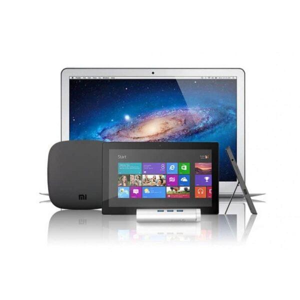 35511 - USB HUB Orico ARH3L-У3 с интерфейсом RJ45 - USB 3.0 х 3, 2 кабеля с USB и Type-C