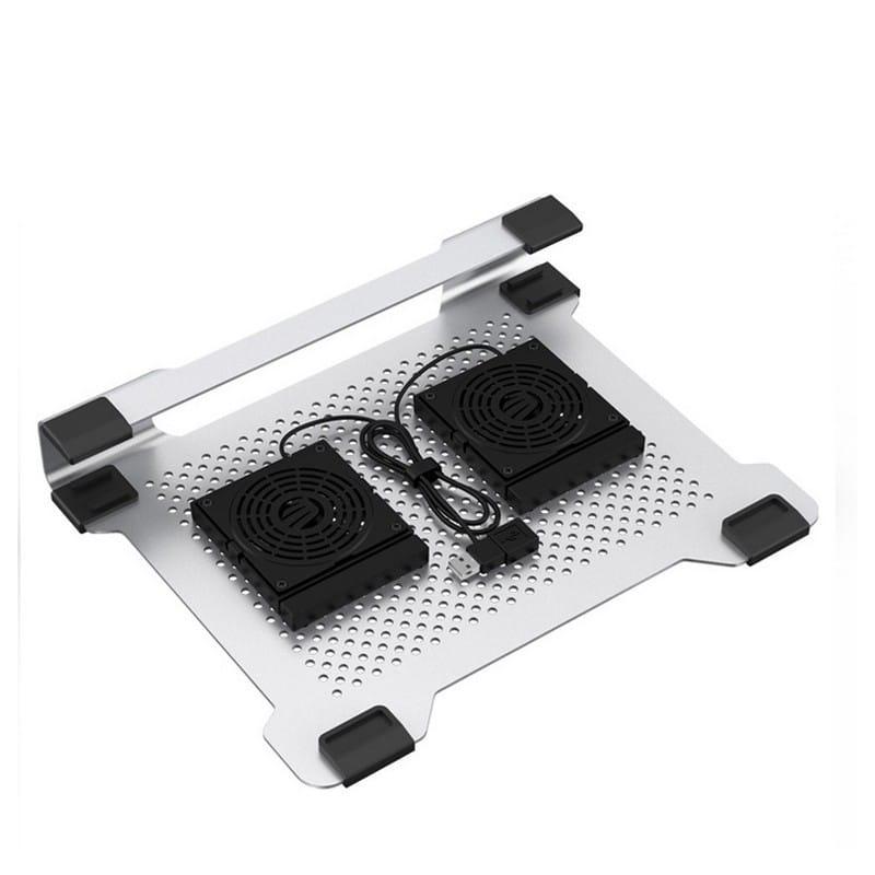 Алюминиевая подставка-радиатор Orico NA15 для 14″, 15.6″ и 17-дюймовых ноутбуков (с двумя вентиляторами) 211651