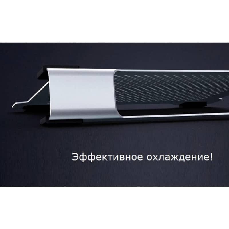 Алюминиевая подставка-радиатор Orico NA15 для 14″, 15.6″ и 17-дюймовых ноутбуков (с двумя вентиляторами) 211655