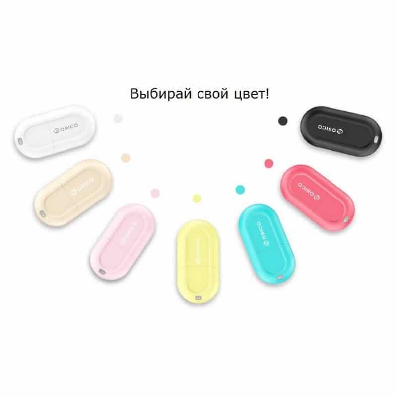 Маленький USB-адаптер Bluetooth 4.0 ORICO ВТ-408 211667