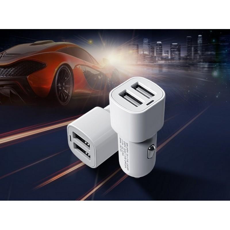 35589 - Автомобильное зарядное устройство ORICO UCL-2U - 2 х USB, интеллектуальная быстрая зарядка, 5V 3.4A 17Вт