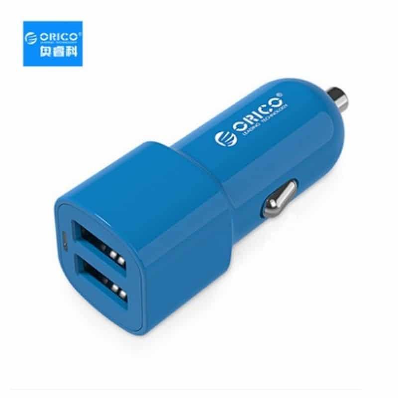 Автомобильное зарядное устройство ORICO UCL-2U – 2 х USB, интеллектуальная быстрая зарядка, 5V 3.4A 17Вт 211686