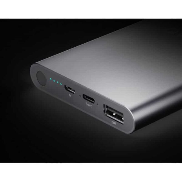 35737 - Ультратонкий powerbank ORICO T1 с Type-C интерфейсом - Micro USB in, USB out, Type-C 5V 2.4A