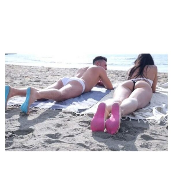 35759 - Силиконовые защитные стельки Beach Sandals для пляжа, бассейна и не только