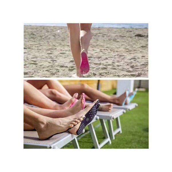 35761 - Силиконовые защитные стельки Beach Sandals для пляжа, бассейна и не только