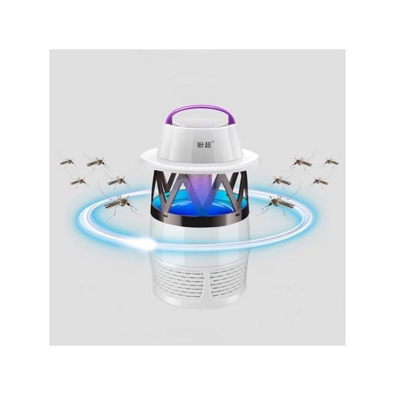 35772 - Эффективная механическая ловушка для комаров Mosquito Killer - 6 светодиодов, 7 лезвий, шнур 1.1м