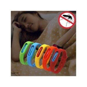 Антимоскитный силиконовый браслет для взрослых и детей (5 штук)
