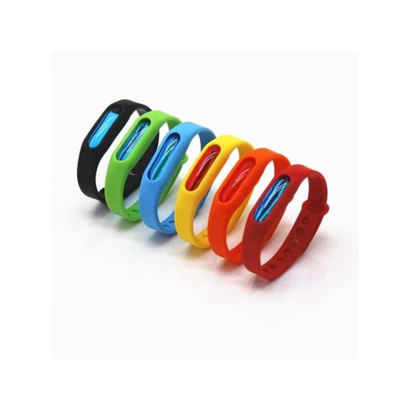 Антимоскитный силиконовый браслет для взрослых и детей (5 штук) 211841