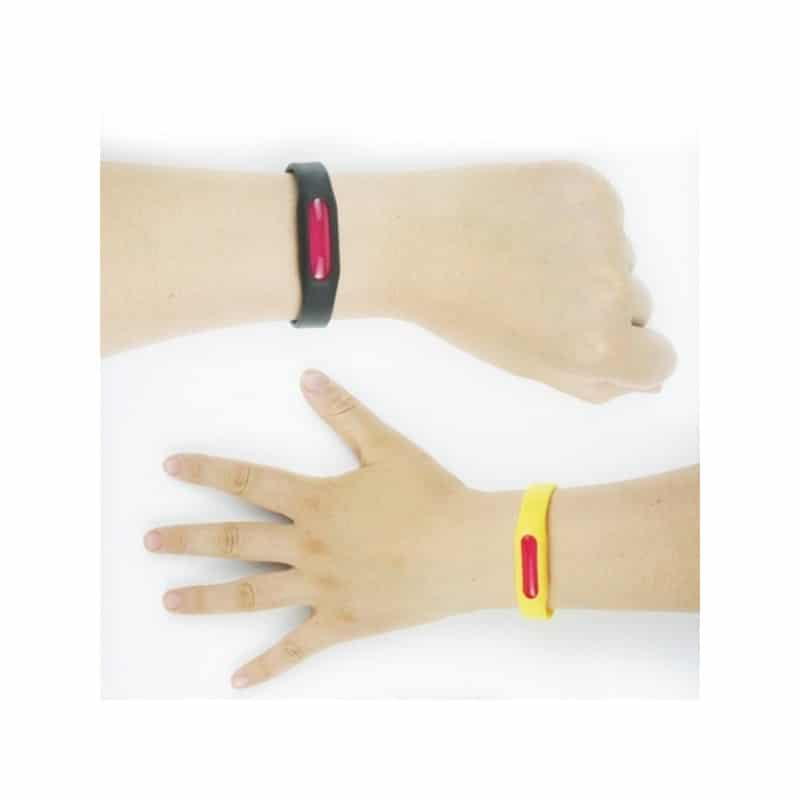 Антимоскитный силиконовый браслет для взрослых и детей (5 штук) 211844