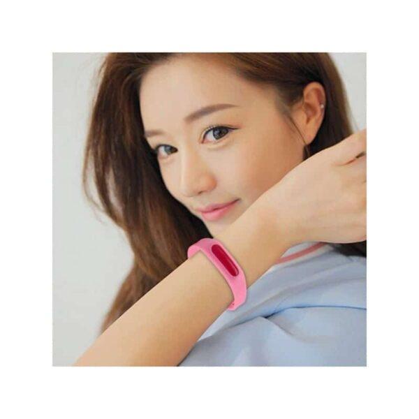 35787 - Антимоскитный силиконовый браслет для взрослых и детей (5 штук)