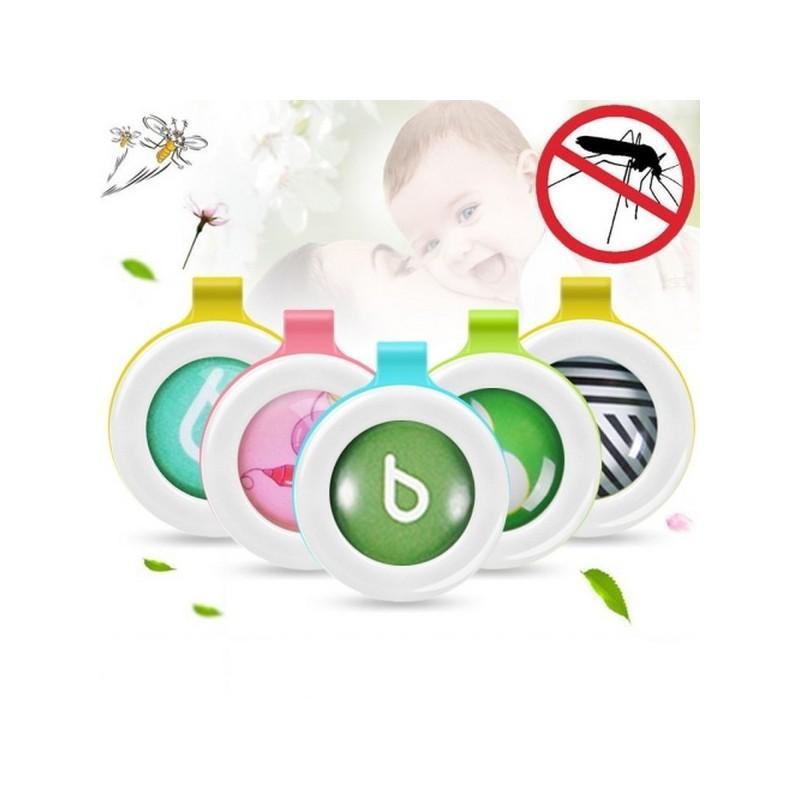 Детские антимоскитные брелки Babysafe – 5 штук, эфирные масла