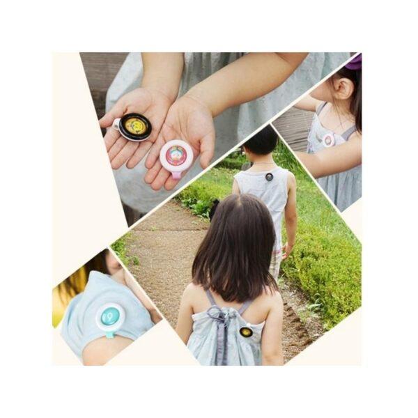 35794 - Детские антимоскитные брелки Babysafe - 5 штук, эфирные масла