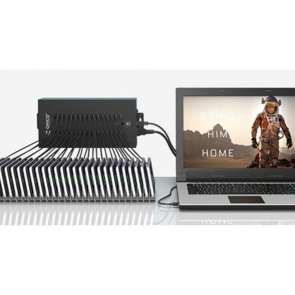 35808 - 30-портовый концентратор ORICO IH30P USB 2.0 с функцией зарядки
