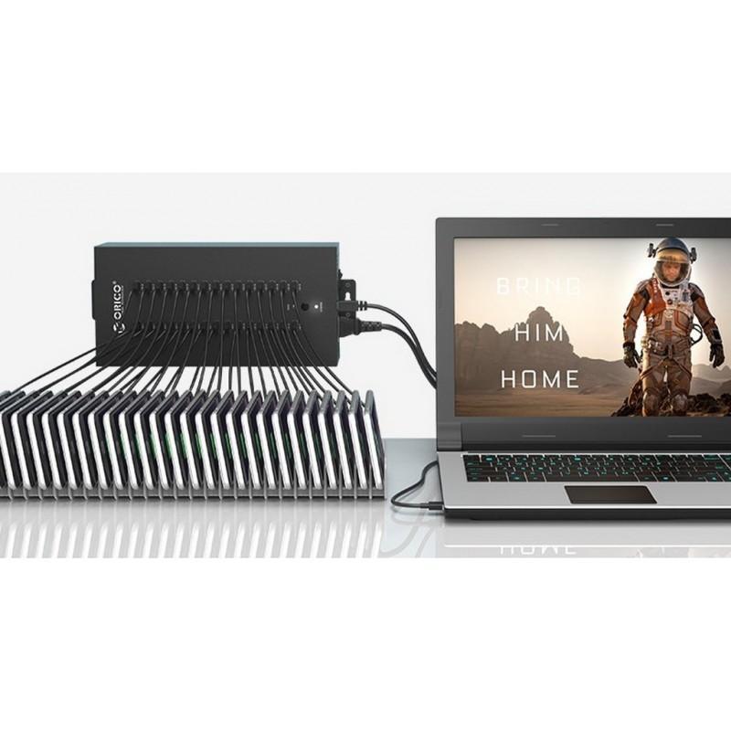 30-портовый концентратор ORICO IH30P USB 2.0 с функцией зарядки 211882