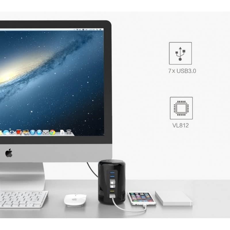 7-портовый HUB USB 3.0 ORICO RH7-У3 с функцией зарядки 211918